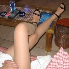 エッチ前の足