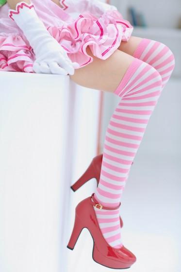 脚フェチギャラリー : ゴズロリピンクの美脚