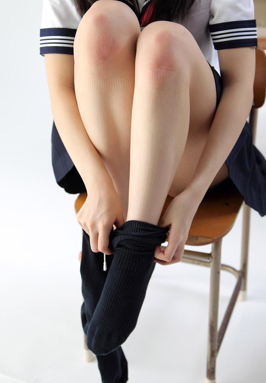 JK美脚モデル少女 | 脚フェチGallery